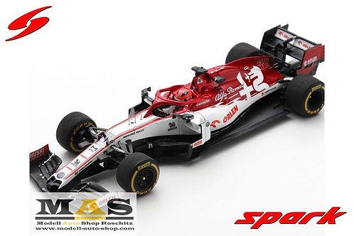 Alfa Romeo C39 R. Kubica Test 2020 Spark 1/43