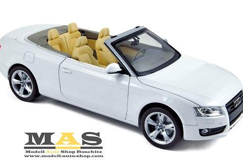 Audi A5 Cabrio 2009 white Norev 1/18
