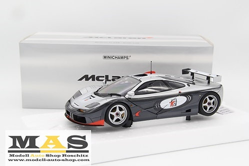 McLaren F1 GTR PROGRAMMA ADRENALINA Minichamps 1/18