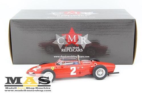 Ferrari 156 Sharknose #2 P. Hill Italien GP 1961 Weltmeister CMR 1/18