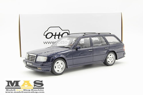 Mercedes Benz S124 AMG E36 blau Otto Mobile 1/18