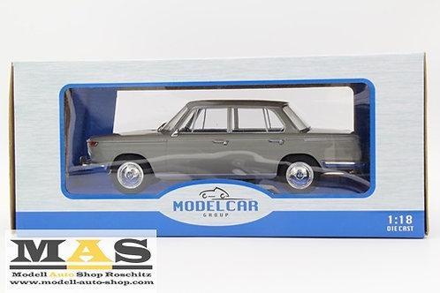 BMW 2000 hellgrau 1966 MCG 1/18
