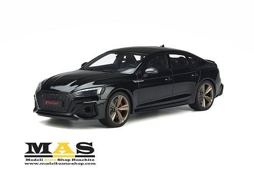 Audi RS 5 (B9) Sportback 2020 schwarz GT Spirit 1/18