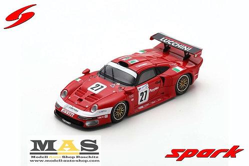 Porsche 911 GT1 24h LeMans 1997 Pescatori, Martini, Herrmann Spark 1/43