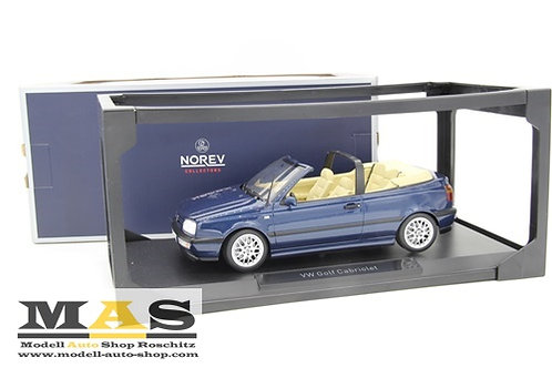 Volkswagen VW Golf 3 Cabrio dark blue Norev 1/18