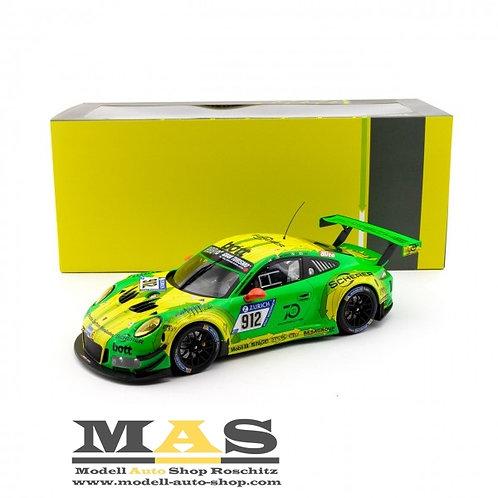 Porsche 911 GT3 R Manthey Racing vincitore 24h Nürburgring 2018 R. Lietz IXO 1/18