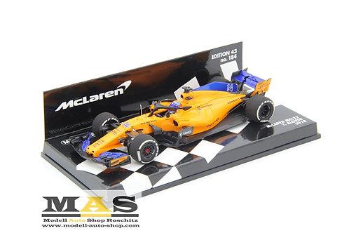 McLaren Renault MCL33 F. Alonso 2018 Minichamps 1/43