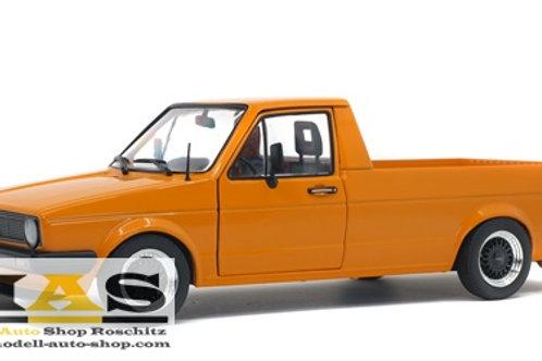 Volkswagen VW Caddy 1 orange Solido 1/18