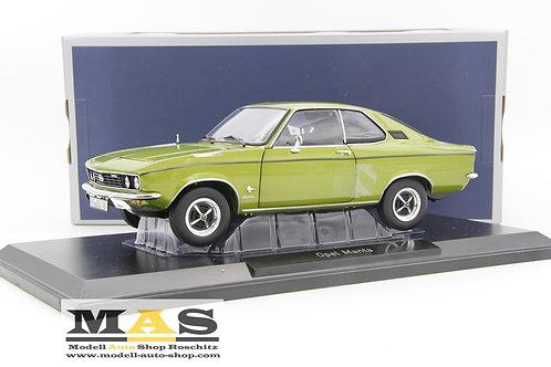 Opel Manta A Lemon Grün metallic 1970 Norev 1/18