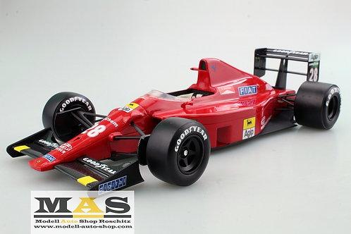 Ferrari F189 640 G. Berger 1989 GP Replicas 1/18