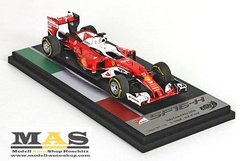 Ferrari SF-16H S. Vettel Italy GP 2016 BBR 1/43