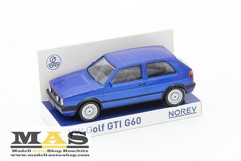 Volkswagen VW Golf GTI G60 blau Norev 1/43