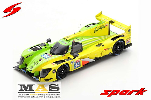 Ligier JS P217 No 34 24h Lemans 2020 R. Binder, Isaakyan, Smiechowski Spark 1/43