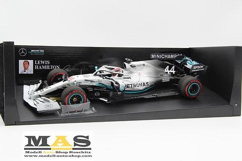 Mercedes AMG W10 L. Hamilton German GP 2019 Minichamps 1/18