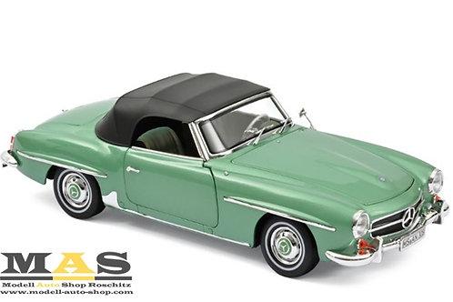 Mercedes Benz 190 SL 1957 hell grün Norev 1/18