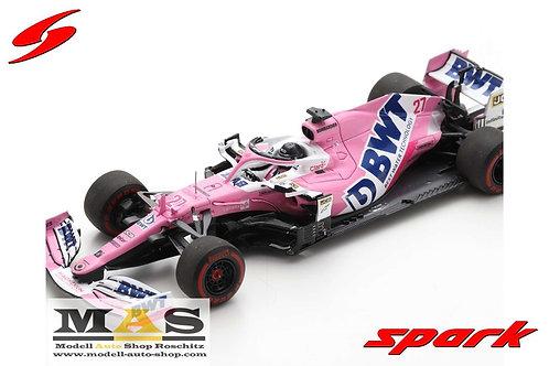 BWT Racing Point RP20 N. Hulkenberg 70th Anniversary GP England 2020 Spark 1/43
