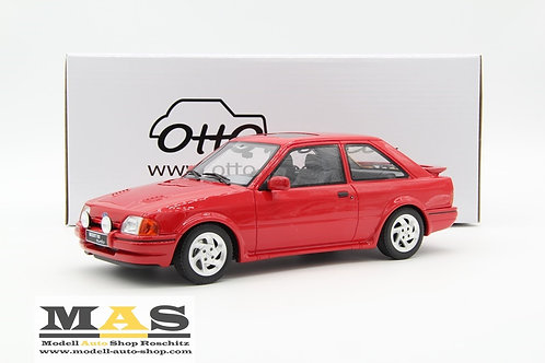 Ford Escort MK4 RS Turbo 1990 rot Otto Mobile 1/18