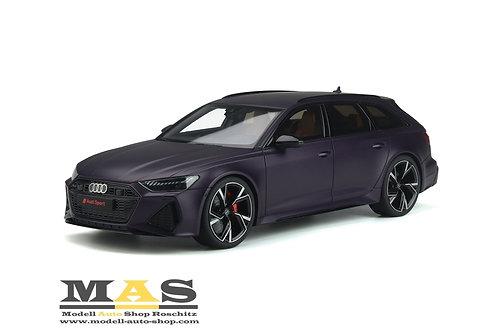 Audi RS6 Avant 2020 purple GT Spirit 1/18