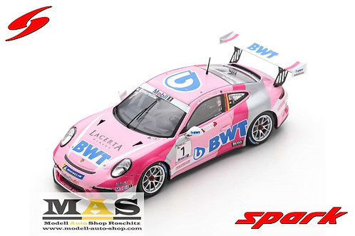 Porsche Carrera Cup Nr. 1 Champion Supercup 2019 M. Ammermüller Spark 1/43