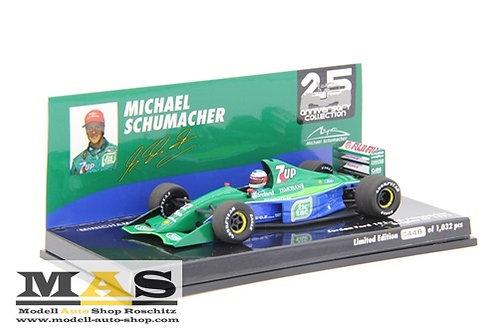 Jordan 191 M. Schumacher Belgian Spa GP 1991 Minichamps 1/43