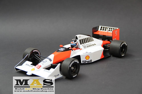 McLaren Ford MP4/5b 1990 G. Berger Minichamps 1/18