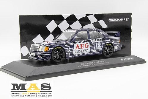 Mercedes Benz 190e 2.5-16 EVO 1 DTM 1989 A. Cudini Minichamps 1/18