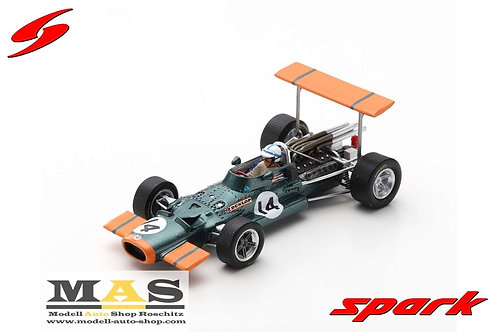 BRM P138 J. Surtees Spanien GP 1969 Spark 1/43