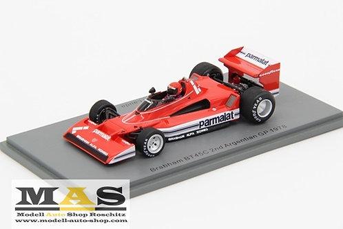 Brabham BT45C 2nd Argentinien GP 1978 N. Lauda Spark 1/43