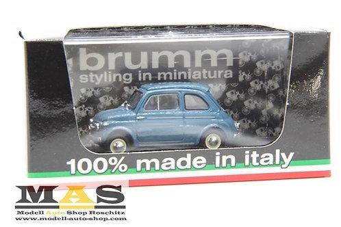 Steyr Puch 500D blau 1959 Brumm 1/43