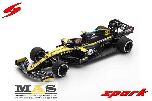 Renault RS20 D. Ricciardo 3rd Eifel GP 2020 Spark 1/43