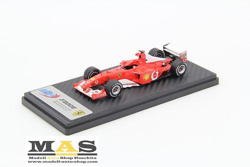 Ferrari F2002 M. Schumacher Frankreich GP 2002 BBR 1/43
