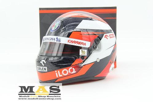 Kimi Räikkönen Alfa Romeo Racing 2020 Helm Bell 1/2