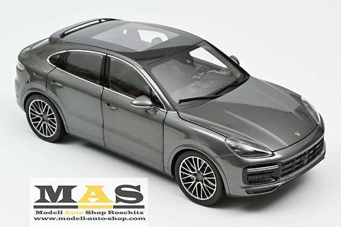 Porsche Cayenne Coupé Turbo 2019 dunkel grau metallic Norev 1/18