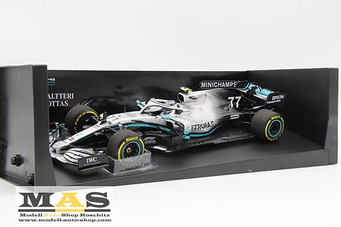 Mercedes AMG W10 V. Bottas 2nd China GP 2019 Minichamps 1/18