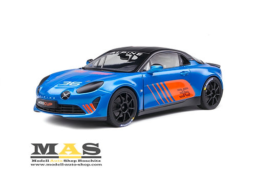 Alpine A110 Cup No. 36 Launch Livery 2019 Solido 1/18