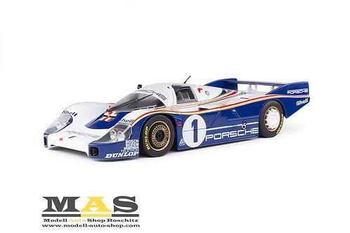 Porsche 956 LH winner 24h LeMans 1982 Ickx, Bell Solido 1/18