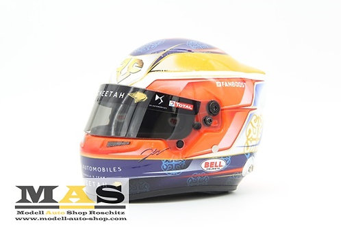 Jean Eric Vergne Formula E Helmet 2019 DS Techeetah Bell 1/2