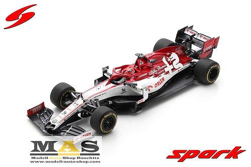 Alfa Romeo C39 R. Kubica No. 88 Test 2020 Spark 1/18