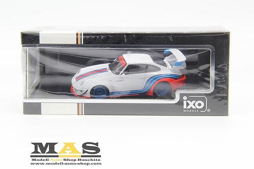 Porsche 911 (930) RWB Rauh Welt Martini weiß IXO 1/43
