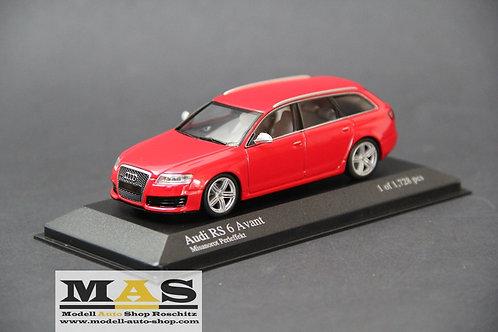 Audi RS6 Avant C6 1/43 Minichamps