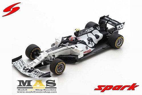 Alpha Tauri AT01 Honda winner Italy GP 2020 P. Gasly Spark 1/43