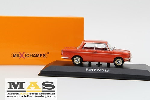 BMW 700 LS 1960 red Minichamps 1/43