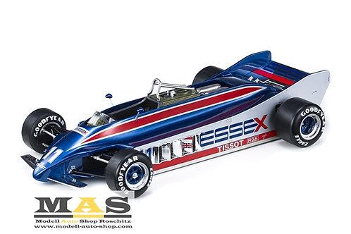 Lotus 88 No. 11 E. de Angelis 1981 GP Replicas 1/18