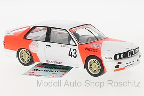BMW M3 (E30) WTCC 1987 Marlboro Ixo 1/43