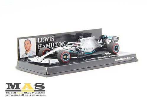 Mercedes AMG W10 L. Hamilton German GP 2019 Minichamps 1/43