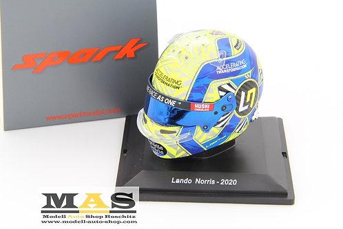Lando Norris Helm 2020 McLaren MCL35 Spark 1/5