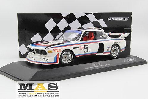 BMW 3.5 CSL No. 5 Miller, Cowart 6h Watkins Glen 1979 Minichamps 1/18