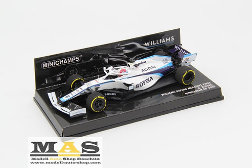 Williams FW43 G. Russell Hungary GP 2020 Minichamps 1/43