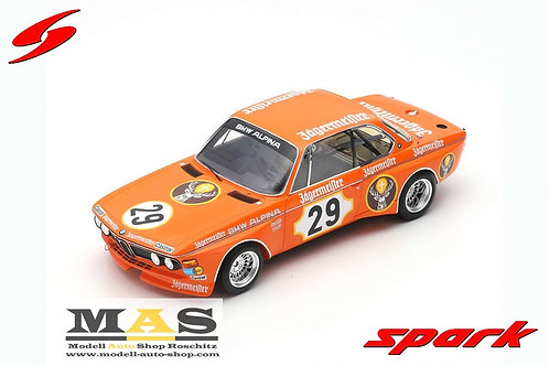 BMW 3.0 CSL No. 29 Winner 24H Nürburgring 1973 Lauda, Muir Spark 1/18