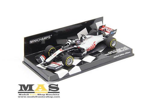 Haas F1 Team VF20 R. Grosjean Launch Spec 2020 Minichamps 1/43